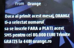 mesaje automate orange