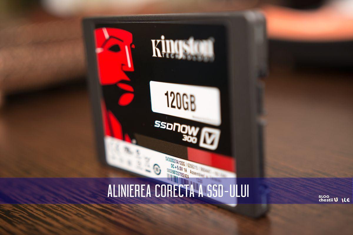 ce inseamna aliniere SSD