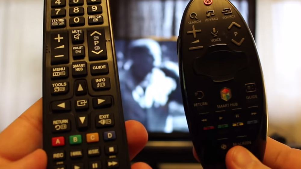 tv smart telecomanda