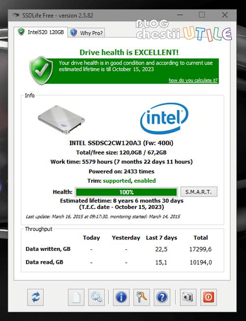 SSD life