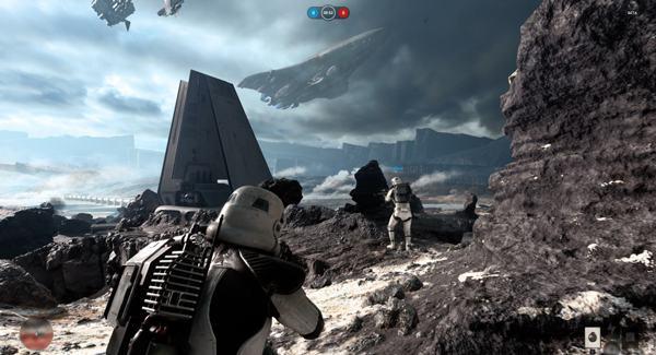 Teste, cu diferite plăci video, pentru Star Wars Battlefront