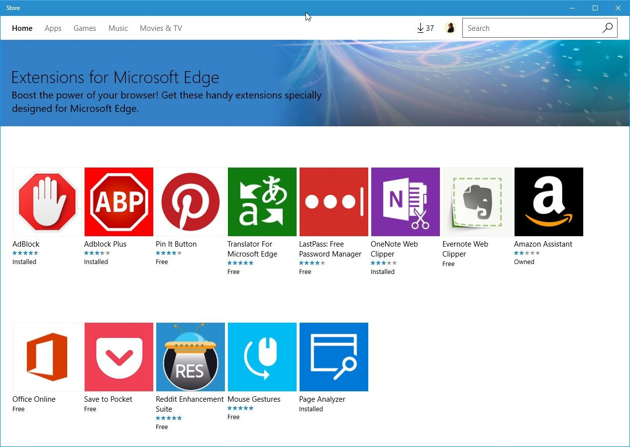 get-edge-extensions store