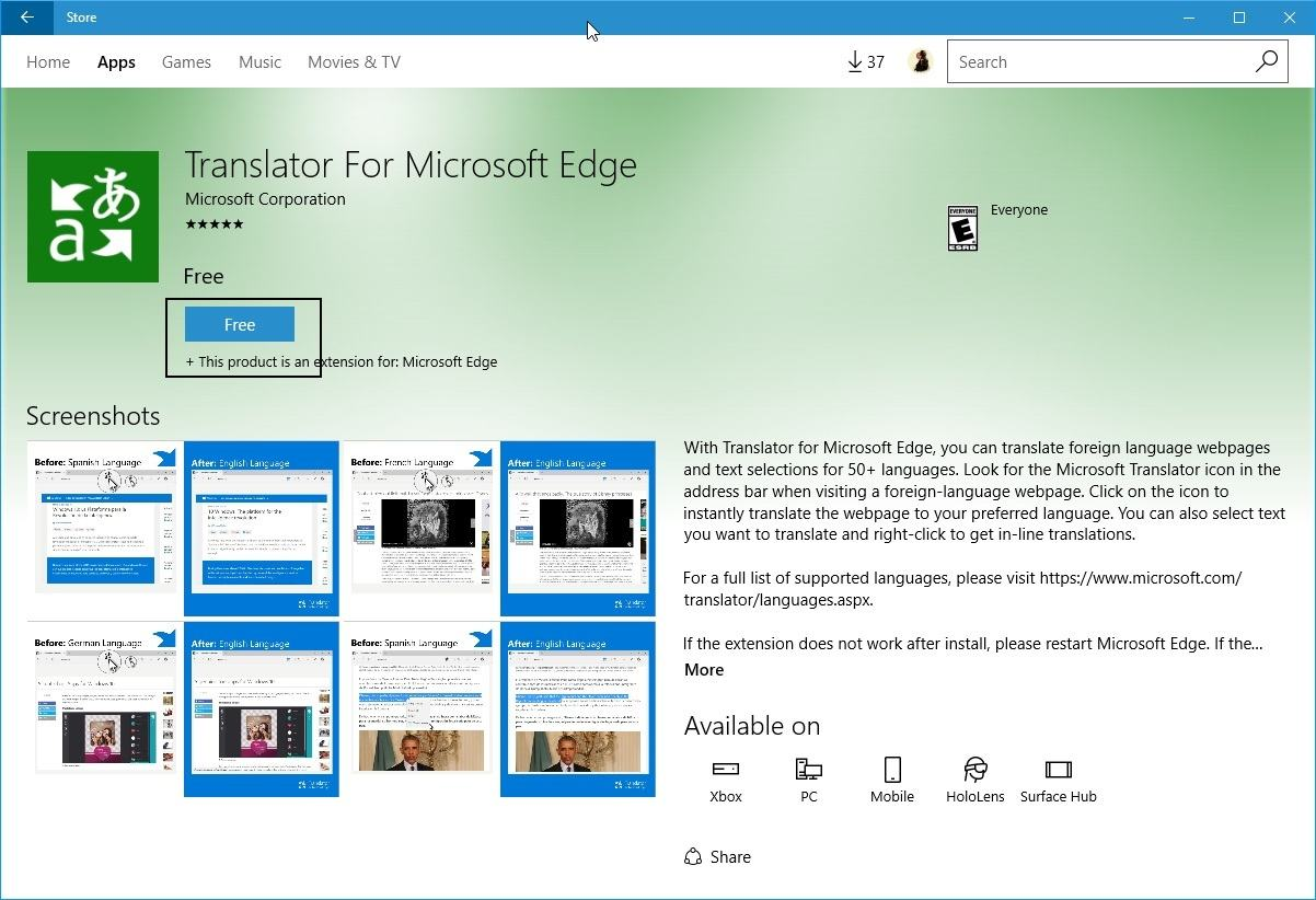 install-edge-extensions