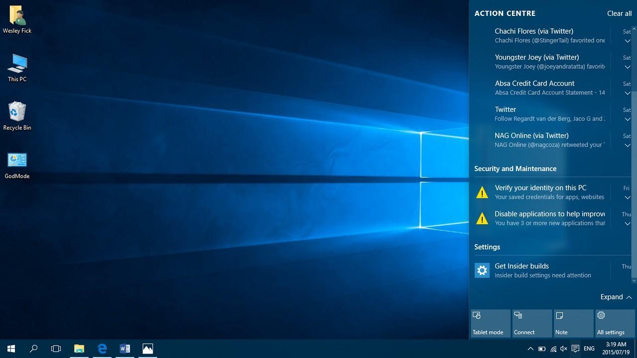 Încă un concept pentru Windows 10. Arată ok?