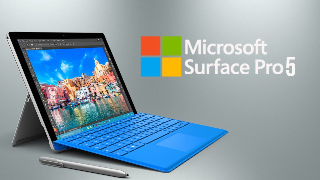 Microsoft Surface Pro 5 va fi realizat in 2017