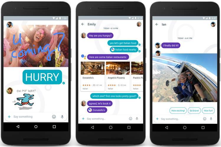 Noul serviciul de mesagerie Google Allo a fost lansat in Romania