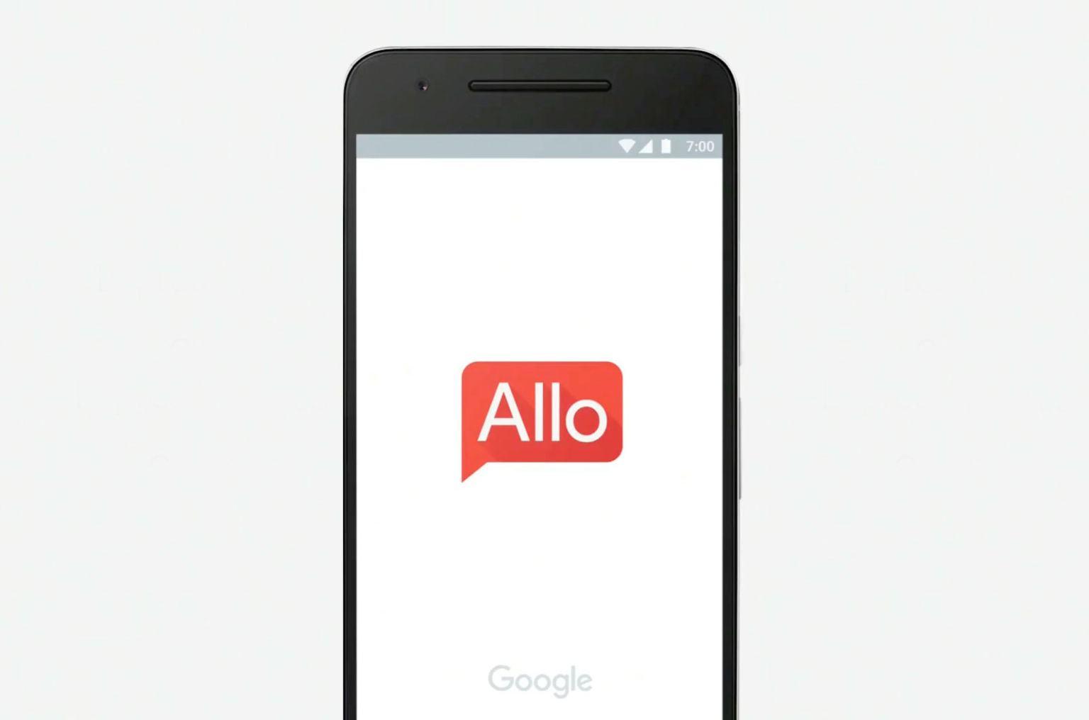 Google Allo ar putea inlocui incet, incet celeleante servicii de mesagerie