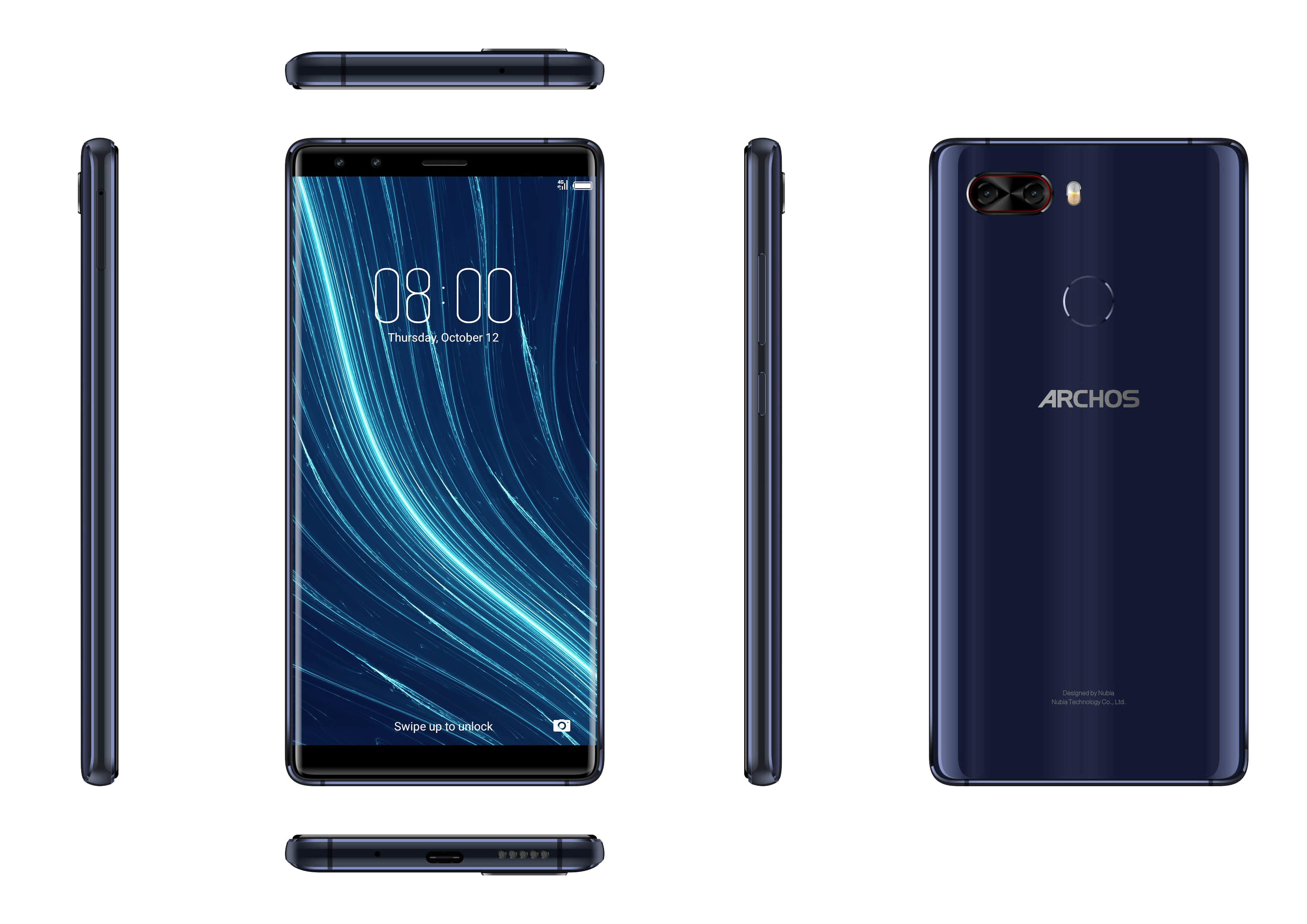 ARCHOS a lansat oficial în România telefon cu 8 GB RAM și 128 GB spațiu de stocare